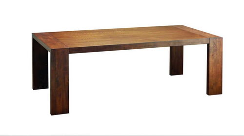 CLARKSON SCANDINAVIAN DINING TABLE 2185(L) X 1000(W) - COCOA