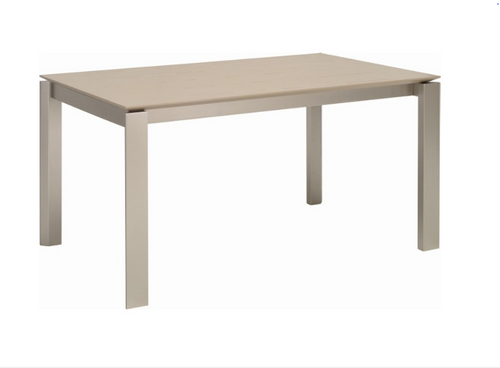 ELWOOD SCANDINAVIAN  DINING TABLE - 1500(L) X 1000(W) -  GREY