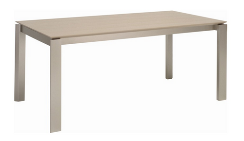 ELWOOD SCANDINAVIAN  DINING TABLE - 1800(L) X 1000(W) -  GREY