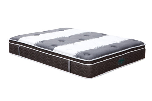 DOUBLE ECO DELUXE BAMBOO (MT-31-B) POCKET SPRING ENSEMBLE (MATTRESS & BASE) WITH BODY CARE (SWB) BASE - FIRM