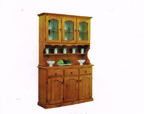 ASTRA BUFFET & HUTCH 6 DOOR / 3 DRAWER - BLACKWOOD