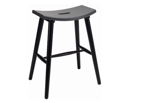 HOLLIS SCANDINAVIAN COUNTER STOOL - 620H -  GRAPHITE GREY