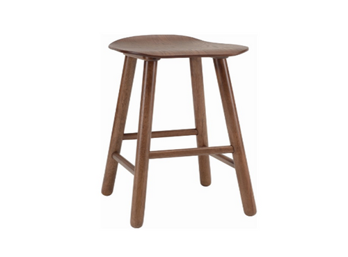 HETTY SCANDINAVIAN COUNTER STOOL - 650H -  COCOA