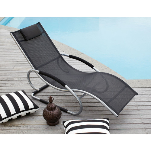 SUMATRA SUN LOUNGER - MOCHA, BLACK, RED, GREEN OR BLUE