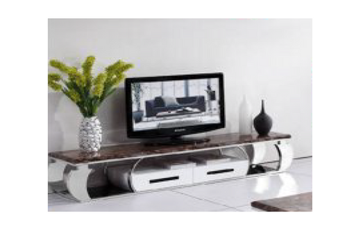 DEEWEE TV UNIT - (MODEL-802) - BROWN MARBLE FINISH -  420(H) x 2000(W) - ASSORTED COLOURS