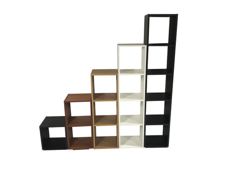 INNOSON (AUSSIE MADE) THREE(3) TIER  BOOKCASE- (MODEL-18-4-14  20-9-4-18) ASSORTED  COLOURS AVAILABLE