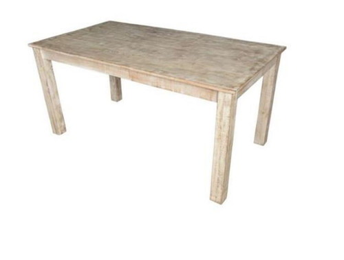 DENNY RECTANGULAR DINING TABLE  (3-15-1-19-20-1-12) - 1600(L) X 900(W) - NATURAL