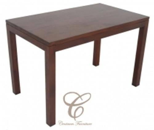 AMSTERDAM DINING TABLE 120 X 70 - 1200(L) X 700(W) - (DT 120 70 TA) - MAHOGANY
