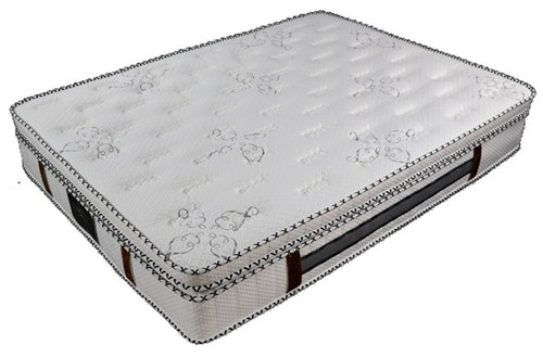 ROYALTY  DOUBLE POCKET SPRING MATTRESS - (7 ZONE) WITH LATEX - (IN-A-BOX) - MEDIUM