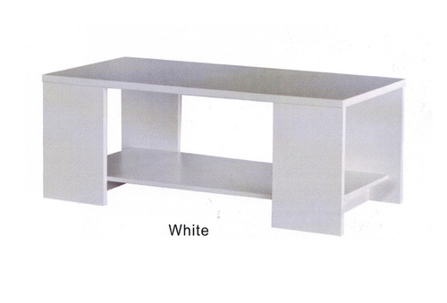 CUE COFFEE TABLE - 1200(W) X 600(D) - WHITE