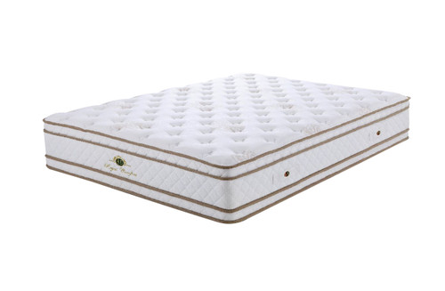 KING REGAL  SUPPORT (MT-20) BONNELL SPRING ENSEMBLE ( MATTRESS & BASE) WITH SPINAL SUPPORT (SWB) BASE - MEDIUM
