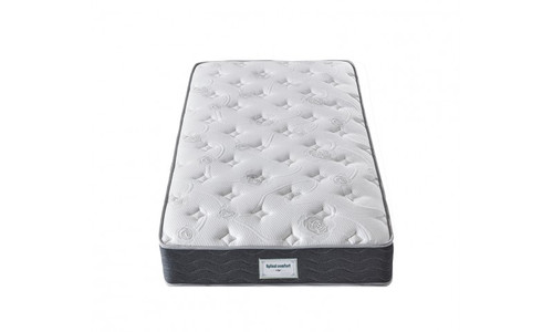DOUBLE SPINAL COMFORT SUPPORT (MT-04) BONNELL SPRING ENSEMBLE ( MATTRESS & BASE) WITH SPINAL SUPPORT (SWB) BASE - MEDIUM