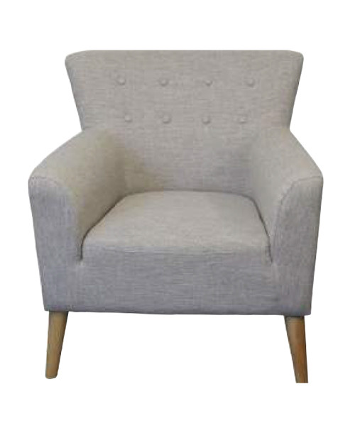 DARCY FIESTA FABRIC RANGE ARM CHAIR