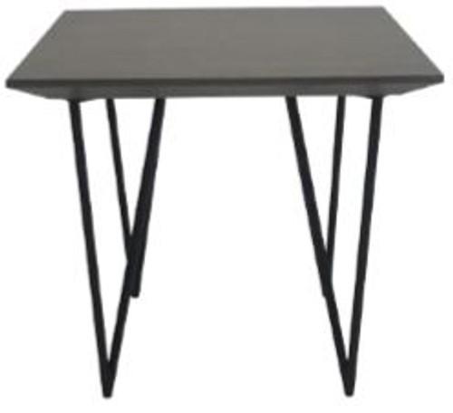 ZOE SIDE TABLE - GREY TIMBER VENEER