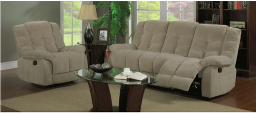 LINCOLN 3RR+R+R FABRIC LOUNGE SUITE - GREY, TAUPE, CHOCOLATE