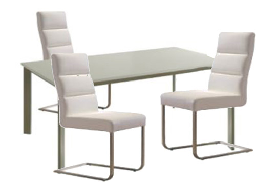 BOUTIQUE 7 PCE DINING SETTING - 6322K DINING CHAIRS -1800(L) x 1000(W)TABLE