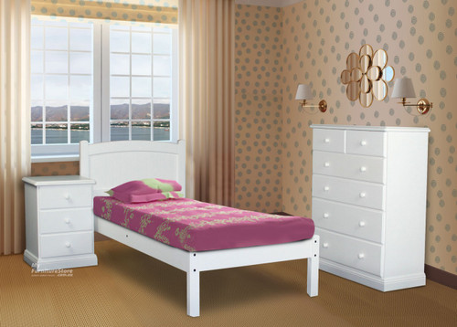 QUEEN MUDGEE (AUSSIE MADE) PANEL BED - 1200(H) - PAINTED COLOURS