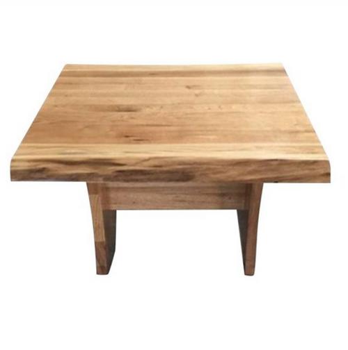 ARGYLE HARDWOOD LAMP TABLE - 450(H) x 700(W) x 700(D) - NATURAL FINISH