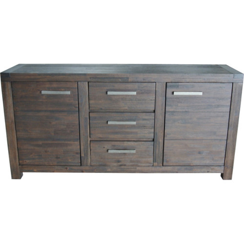 BALORAL 2 DOOR 3 DRAWER MEDIUM BUFFET 630(H) x 995(W) - COFFEE BEAN