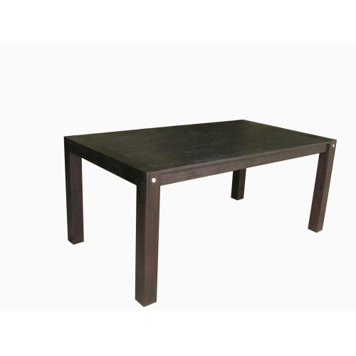 BOMBAY DINING TABLE 1800(L) X 1000(W)- WIRE BRUSHED SMOKE - D