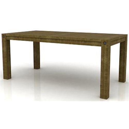 CELIA DINING TABLE 2100(W) x 1100(D)- SMOKE BROWN B034