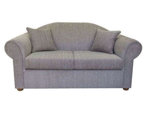 HALON TWO SEATER DOUBLE SOFA BED - ASSORTED COLOURS