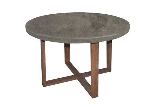 COPACABANA ROUND DINING TABLE – 1200(D) - AS PICTURED
