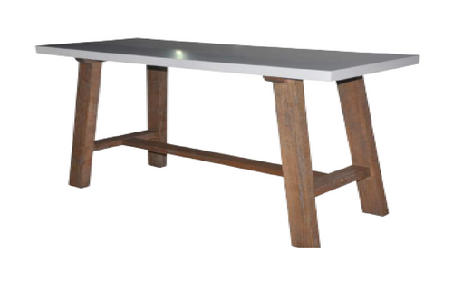 COPACABANA SOFA TABLE - 760(H) X  1200(L) X 450(D) -  AS PICTURED