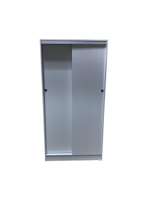 SLIDING DOOR WARDROBE - 2 DOORS - 900(W) - ASSORTED COLOURS AVAILABLE