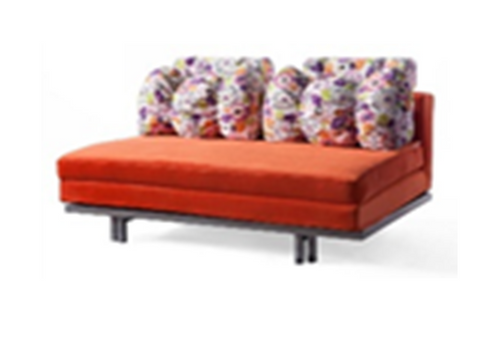 BRANDON  (MODEL-3097) 3 SEATER  LEATHERETTE CLICK CLACK SOFA BED - ASSORTED COLOURS