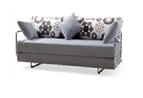 ZACHARY (MODEL-3099) 3 SEATER FABRIC CLICK CLACK SOFA BED - ASSORTED COLOURS
