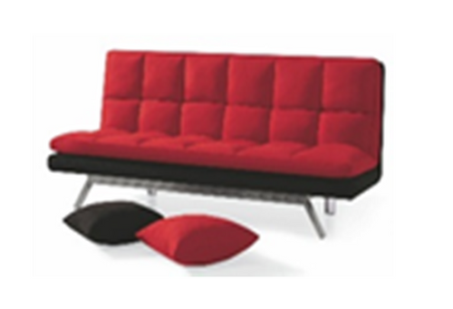 KEVIN (MODEL-3015B) 3 SEATER FABRIC CLICK CLACK SOFA BED - ASSORTED COLOURS