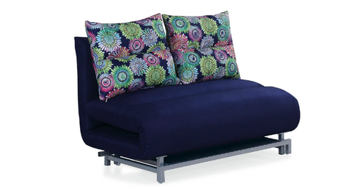 MONICA II (MODEL-3067) 3 SEATER FABRIC CLICK CLACK SOFA BED - ASSORTED COLOURS