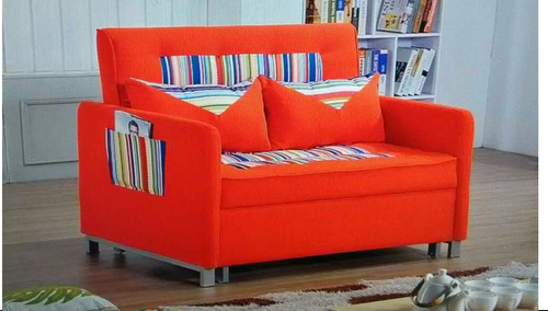 BLENDON   (MODEL-4117 )  3 SEATER FABRIC CLICK CLACK SOFA BED  - ASSORTED COLOURS