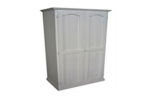 MUDGEE TIMBER PANTRY -  1800(H) x 1200(W) - WHITE , ANTIQUE WHITE , WHITEWASH