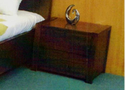 MONROE 2 DRAWER BEDSIDE TABLE - ASH