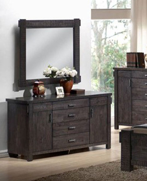 BUCKINGHAM DRESSING TABLE (MODEL - 19-5-1-20-20-12-5) WITH MIRROR - BLUE