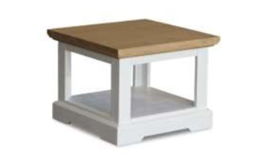 HAMPTONS LAMP TABLE 600(W) - BUFF