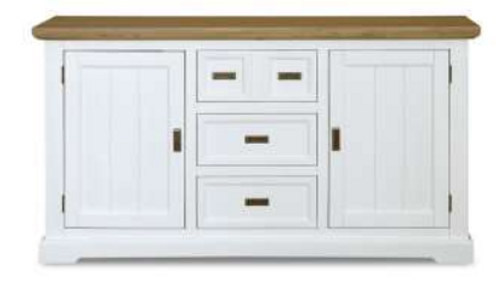HAMPTONS 2 DOOR 3 DRAWER BUFFET - 905(H) x 1660(W)- BUFF