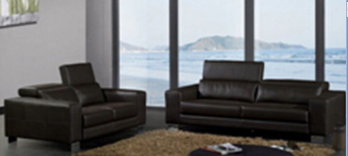 SANDY (MODEL-A301)  3 SEATER + 2 SEATER + 1 SEATER LEATHER  LOUNGE SUITE  - ASSORTED COLOURS AVAILABLE