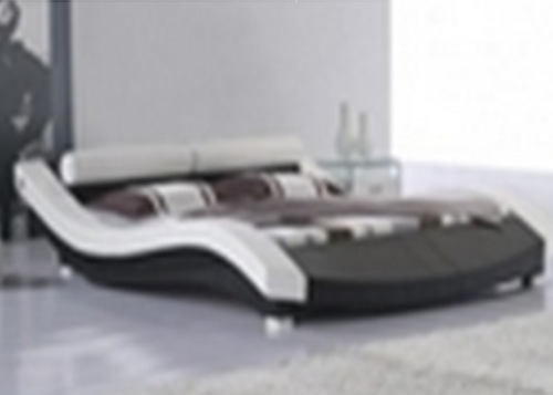 KING LOGAN LEATHER   + PVC BED (MODEL- C302) - ASSORTED COLOURS