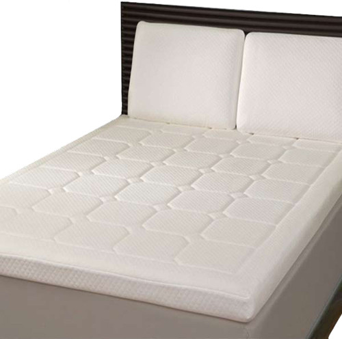 DOUBLE GRAND LUXURY QUILTED MEMORY FOAM / VISCO MATTRESS TOPPER (MTD-5)