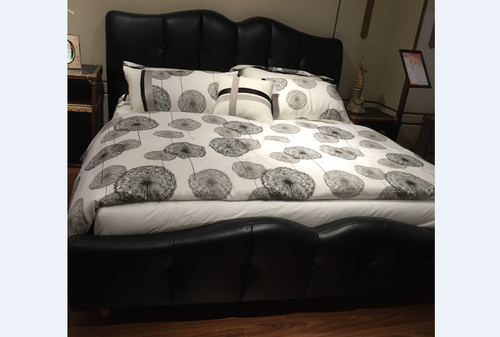 DOUBLE CHICAGO (MODEL: N9811) LEATHERETTE  BED - ASSORTED COLOURS