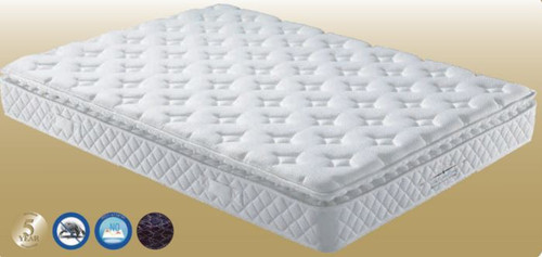 KING SINGLE POSTUREZONE POCKET SPRING ENSEMBLE (MATTRESS & BASE) (VMT-006) WITH BODY CARE (SWB) BASE (NOT PICTURED) - FIRM
