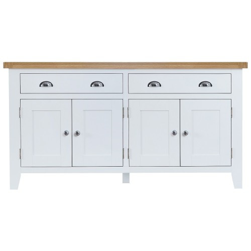 ARBETTA  (TT-4DS) LARGE SIDEBOARD WITH 4 DOORS & 2 DRAWERS 1650(W) - TWO TONE