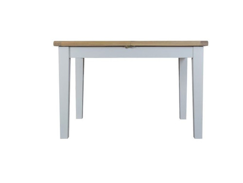 ARBETTA (TT-12BET) BUTTERFLY EXTENSION DINING TABLE - 780(H) X 1200/1650(W) - TWO TONE