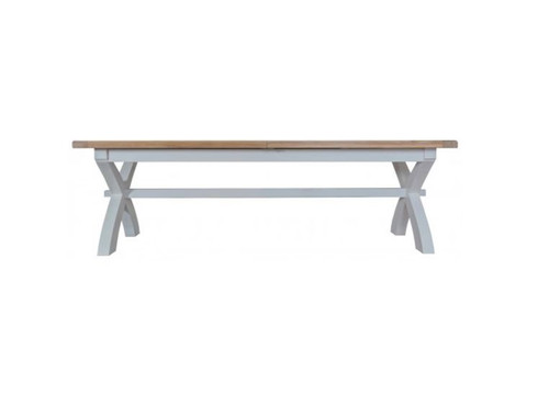 ARBETTA (TT-25ET+ ) CROSS EXTENSION TABLE - 2500 / 3000(L) X 1000(W) WITH 2 LONG 2500(W) BENCHES  - TWO TONE