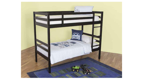 SINGLE MURRAY  BUNK BED - BLACK