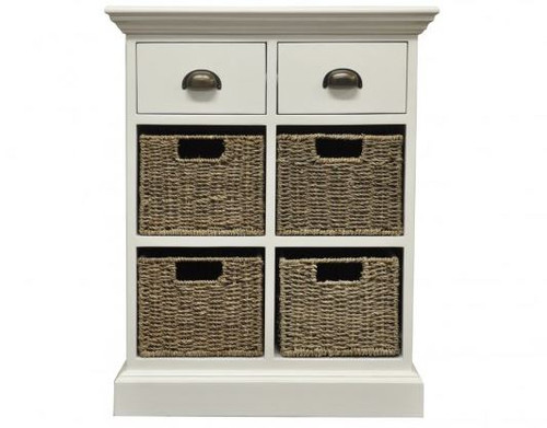 DELAN  (WW-084)  2 DRAWER & 4  BASKET UNIT