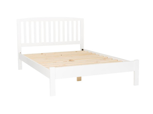 DOUBLE BERTY BED (BED04-46-P) - WHITE
